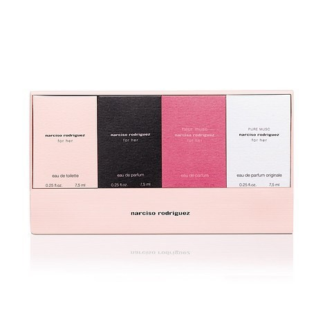Gift Set Narciso Rodriguez For Her Collection 4pcs ( 7,5ml x 4 )
